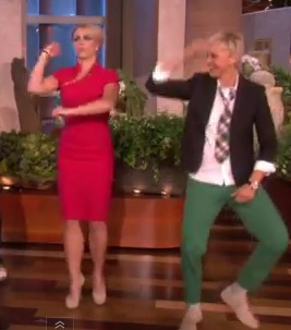 Video! Ellen and Britney Learn 'Gangnam Style' Dance