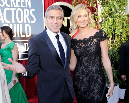 George Clooney Denies Breakup with Stacy Keibler