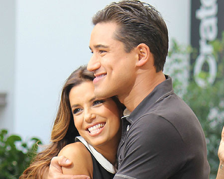 Eva Longoria on Mark Sanchez: 'We're Happy Just Dating'