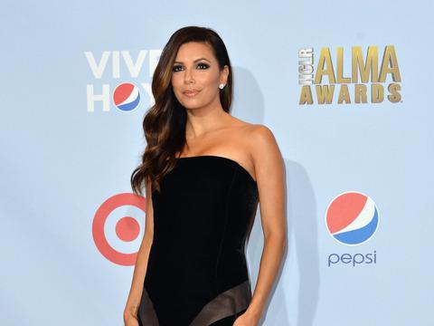 Photos! Eva Longoria Dazzles at Alma Awards