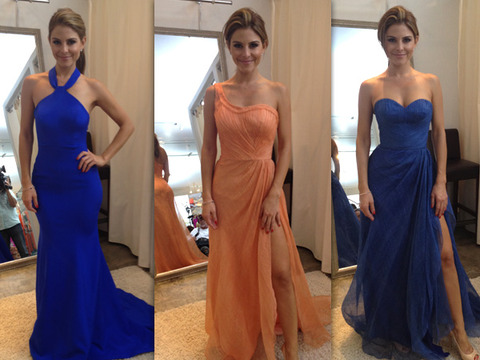 Vote! Pick Maria Menounos' Dress for the 2012 Emmy Awards