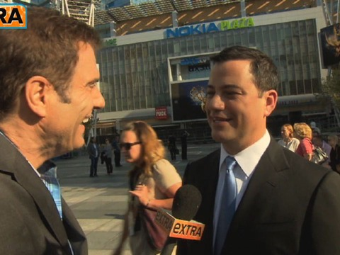 Jimmy Kimmel Talks Emmys and Calling Jennifer Aniston 'Mom'