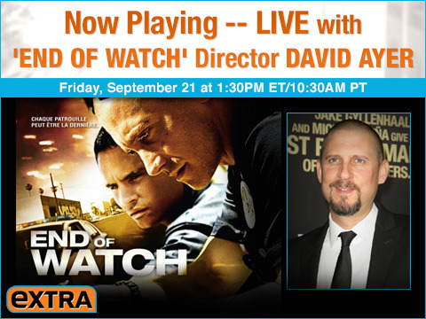 Watch 'Now Playing' with 'End of Watch' Director David Ayer