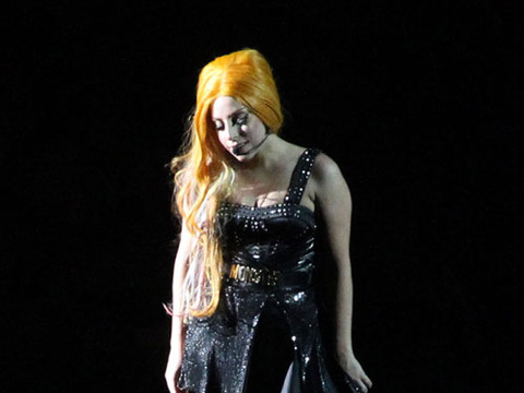 Lady Gaga Blames Dad's Restaurant for Weight Gain
