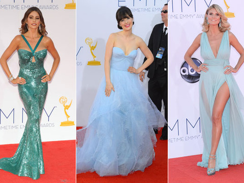 Emmy Awards 2012: Best Dressed
