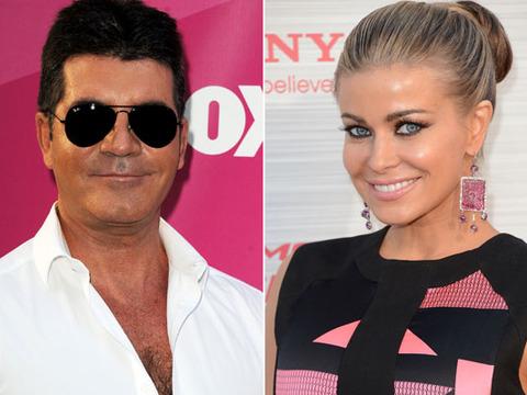 Simon Cowell and Carmen Electra Spark Romance Rumors