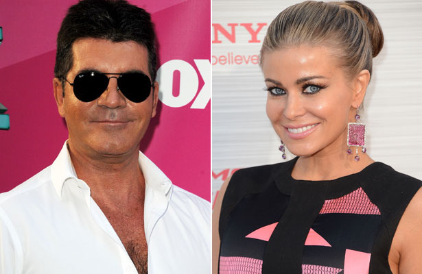 Simon Cowell and Carmen Electra Spark Romance Rumors
