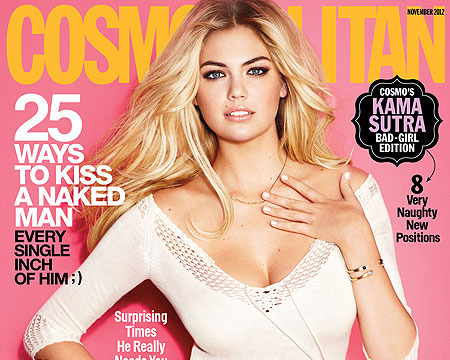 Kate Upton on What's Sexy to Her: 'Messy Hair'