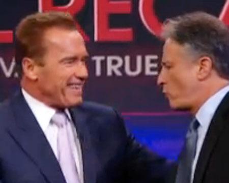 Jon Stewart Skewers Schwarzenegger
