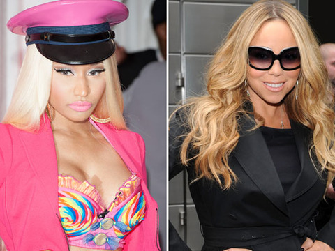 Nicki Minaj vs. Mariah Carey: 'Idol' Smackdown Caught on Tape