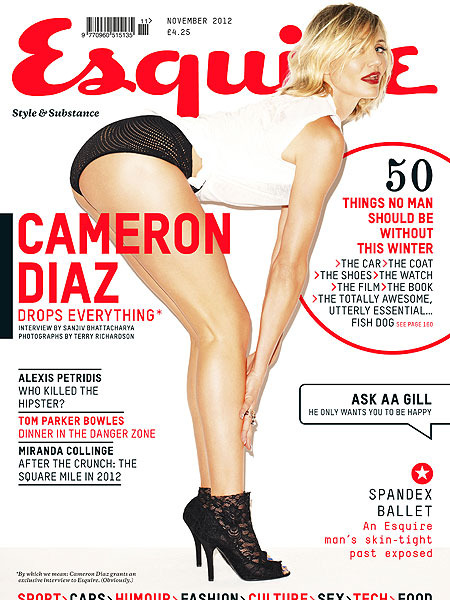 Cameron Diaz on Being 40: 'I'm Content'