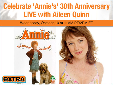 Celebrate 'Annie's' 30th Anniversary with Aileen Quinn