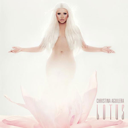 Christina Aguilera Unveils Naked 'Lotus' Album Cover