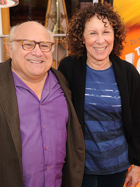 Danny DeVito and Rhea Perlman Separate
