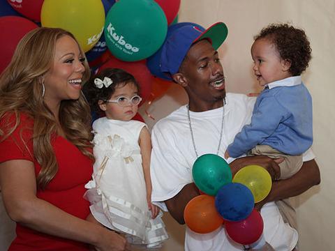 Nick Cannon Talks Wife Mariah's 'Idol' Feud, Celebrates Kids Website