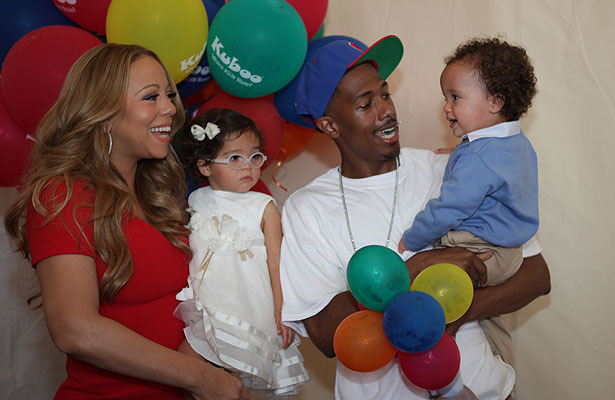 Nick Cannon Talks Wife Mariah's 'Idol' Feud, Celebrates Kids Website