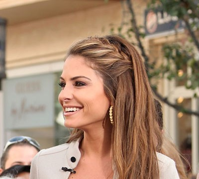How-To: Maria Menounos' French Braid Tutorial