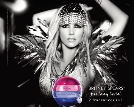 Sex Factor: Britney Spears' Fantasy Twist Perfume Ad