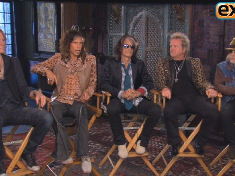 Video! Aerosmith Talks New US Tour and Working with Johnny Depp