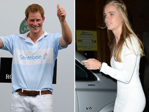 Prince Harry Reunites with Ex-Girlfriend Cressida Bonas