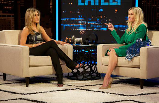 Jennifer Aniston Gets Weepy Talking About Engagement on 'Chelsea Lately'