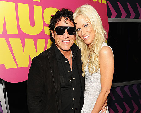 Neal Schon Proposed to Michaele Salahi on Stage