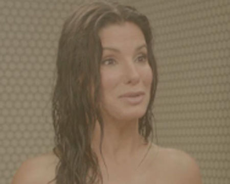 Video! Sandra Bullock and Chelsea Handler's Naked Shower Scene