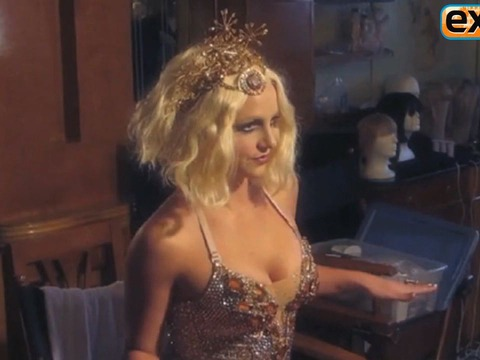 Fantasy Twist: Behind the Scenes of Britney Spears' New Commercial