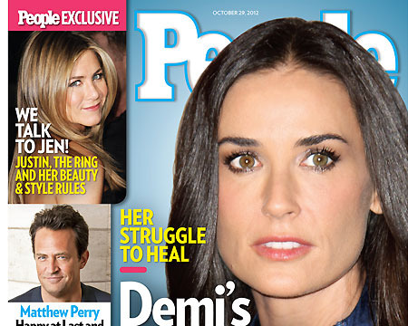 How Demi Moore Is Coping with Ashton Kutcher and Mila Kunis Romance