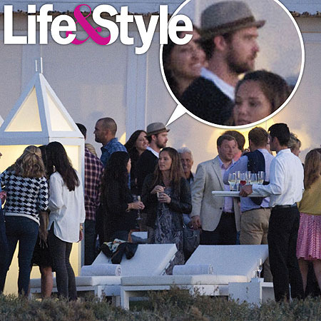 Pic! Justin Timberlake Looking Relaxed Before Wedding
