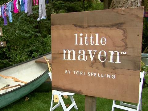 Tori Spelling's Inspiration for 'Little Maven' Clothing Line