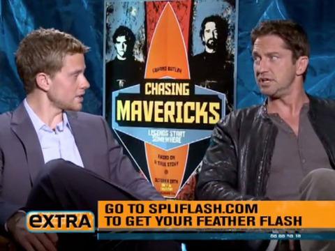 Surf's Up! Gerard Butler and Jonny Weston on 'Chasing Mavericks'