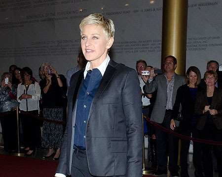 Ellen DeGeneres Receives Mark Twain Prize for Humor