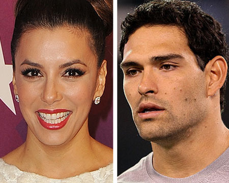 Report: Eva Longoria and Mark Sanchez Split, 'Remain Friends'