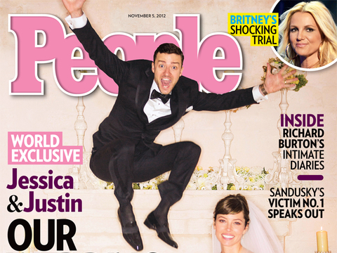 Pic! Justin Timberlake and Jessica Biel's Wedding Photo