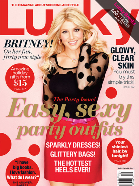 Britney Spears is a Lucky Cover!