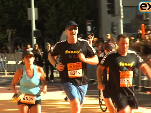 Video! Will Ferrell Runs Marathon as Ron Burgundy