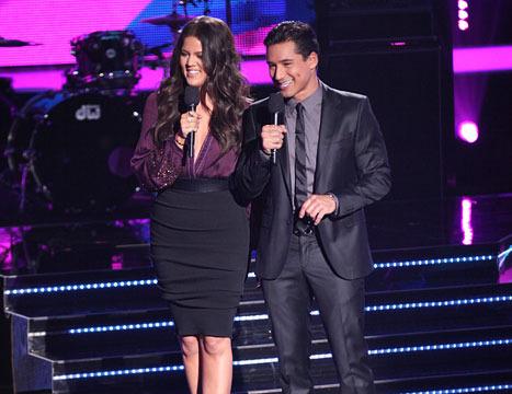Khloe Kardashian Tweets About 'Nip Action' on 'X Factor' Debut