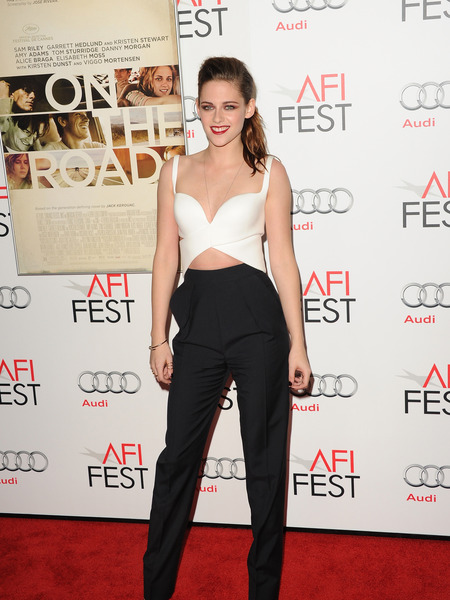Pics! Kristen Stewart Hits the Red Carpet for 'On the Road'