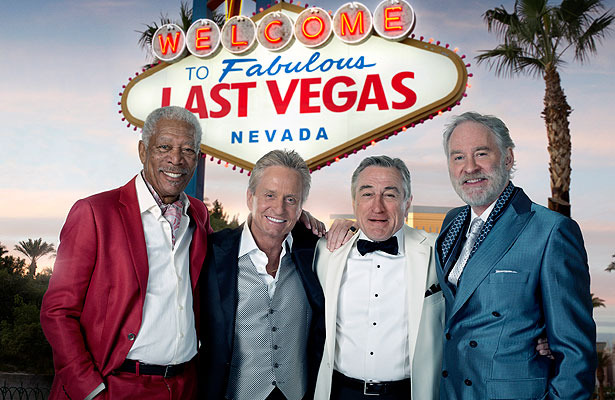 First Look! Michael Douglas and Robert De Niro in 'Last Vegas'