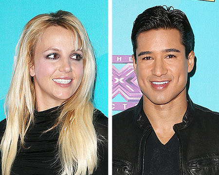 Britney Spears Jokes with Mario: Strip Down and Be My Backup Dancer!