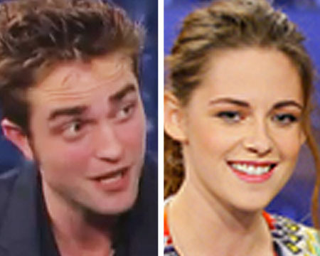 Robert Pattinson and Kristen Stewart: Late-Night Interviews