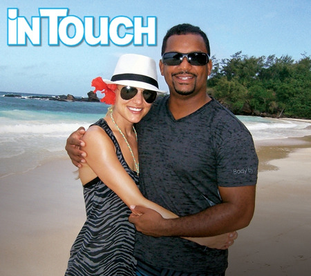 Honeymoon Pics! 'Fresh Prince' Star Alfonso Ribeiro and Wife Angela