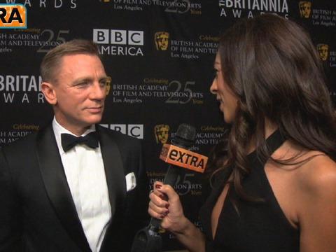 Video! Daniel Craig at the 2012 Britannia Awards