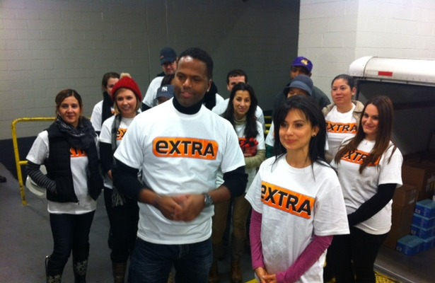 'Extra' Gives Back: Helping Victims of Hurricane Sandy