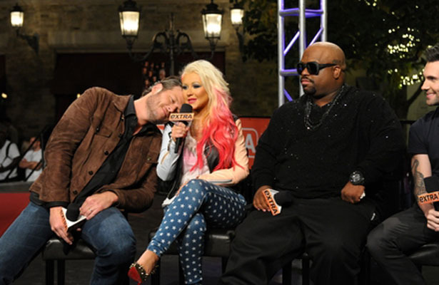 'Extra' Special Event! 'The Voice' at The Grove