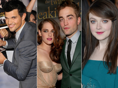 Rob Pattinson, Kristen Stewart Unite for 'Breaking Dawn 2' Premiere