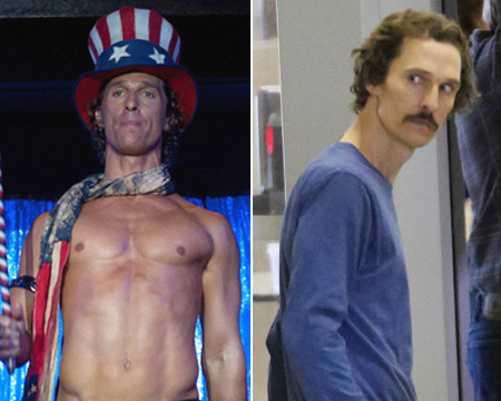 Matthew McConaughey's Shocking Weight Loss, and Other Body Transformations
