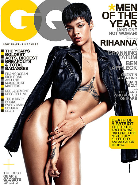 Rihanna Bares All: 'I Like to Feel Like a Woman'