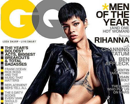 Rihanna Bares All: 'I Like to Feel Like a Woman'